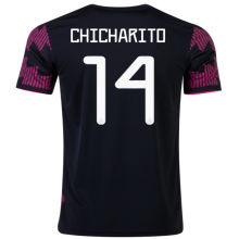 CHICHARITO #14 Mexico1:1 Quality Home Fans Soccer Jersey 2021/22