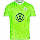 2021/22 Wolfsburg Home Green Fans Soccer Jersey