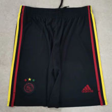2021/22 Ajax Third Black Shorts Pants
