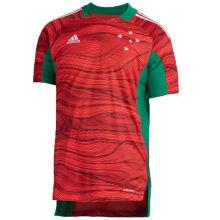 2021/22 Cruzeiro Red Green GK Soccer Jersey