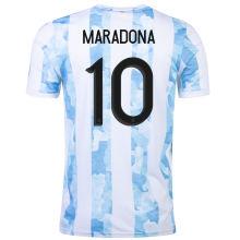 Maradona #10 Argentina 1:1 Quality Home Fans Soccer Jersey