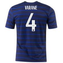 VARANE #4 France Home 1:1 Quality Fans Soccer Jersey 2020/21