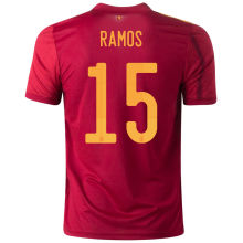 RAMOS #15 Spain 1:1 Quality Home Fans Soccer Jersey