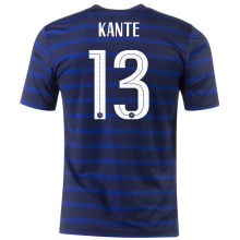 KANTE #13 France Home 1:1 Quality Fans Soccer Jersey 2020/21