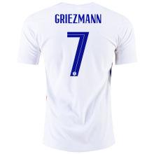 GRIEZMANN #7 France Away 1:1 Quality Fans Soccer Jersey 2020/21