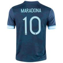 Maradona #10 Argentina 1:1 Quality Away Fans Jersey 2020/21