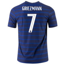 GRIEZMANN #7 France Home 1:1 Quality Fans Soccer Jersey 2020/21
