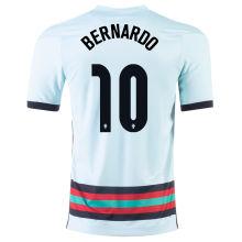 BERNARDO #10 Portugal Away 1:1 Quality Fans Jersey 2020/21