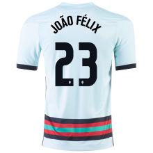 João Félix #23 Portugal Away 1:1 Quality Fans Jersey 2020/21