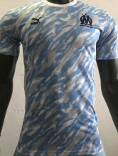 2021/22 Marseille Blue White Player Training Jersey