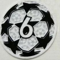 2021/22 UEFA Champion League New Sleeve Badge 6字杯