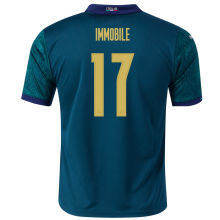 IMMOBILE #17 Italy 1:1 Quality Third Fans Jersey 2020/21