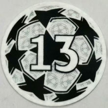 2021/22 UEFA Champion League New Sleeve Badge 13字杯