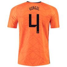 VIRGIL #4 Netherlands 1:1 Quality Home Fans Jersey 2020/21