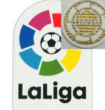 Spain Laliga Patch +20/21 Champion Circle 西甲胶章+20/21金圆环