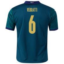 VERRATTI #6 Italy 1:1 Quality Third Fans Jersey 2020/21