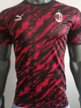 2021/22 AC Red Black Player Training Jersey