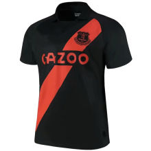 2021/22 Everton Away Black Fans Soccer Jersey