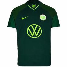 2021/22 Wolfsburg Away Green Fans Soccer Jersey