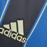 2021/22 Ajax Away Blue Black Kids Soccer Jersey