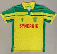 2021 Nantes Maillot 8 è me é toile version Yellow Fans Soccer Jersey