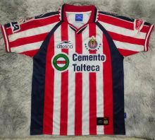 1999/2000 Chivas Home Red Retro Soccer Jersey
