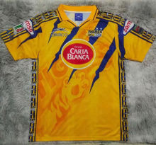 1997/98 Tigres Yellow Retro Soccer Jersey