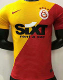 2021/22 Galatasaray Red Yellow Player Soccer Jerseys