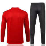 2021/22 Flamengo Red Sweater Tracksuit