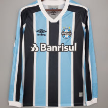 2021/22 Gremio Home Long Sleeve Soccer Jersey