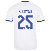 RODRYGO #25 RM Home 1:1 Quality Fans Soccer Jersey 2021/22