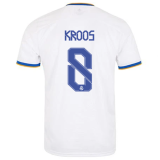KROOS #8 RM Home 1:1 Quality Fans Soccer Jersey 2021/22