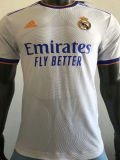 2021/22 RM Home White Player Version Soccer Jersey