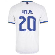 Vini Jr. #20 RM Home Player Version Jersey 2021/22 球员版
