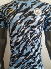 2021/22 M City Blue Player Training Jersey