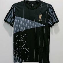LFC Classic Version Black Retro Soccer Jersey