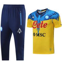 2021 Napoli Marcelo Burlon Limited Edition Yellow Training Short Tracksuit (LH 短裤套装)