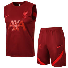 2021/22 LFC Red Vest Short Training Jersey (A Set)