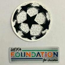 2021/22 UEFA Champion League New Sleeve Badge 球+新公平条