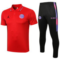2021/22 PSG Red Polo Tracksuit