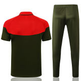 2021/22 Portugal Green Red Polo Tracksuit