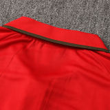 2021/22 Portugal Green Red Polo Short Jersey