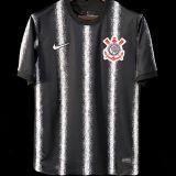2021/22 Corinthians Away Black Fans Soccer Jersey