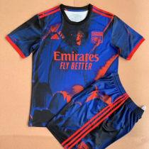 2021/22 Lyon Away Kids Soccer Jersey