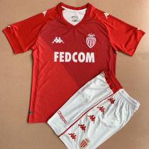 2021/22 Monaco Home Red Kids Soccer Jersey