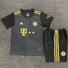 2021/22 BFC Away Black Kids Soccer Jersey