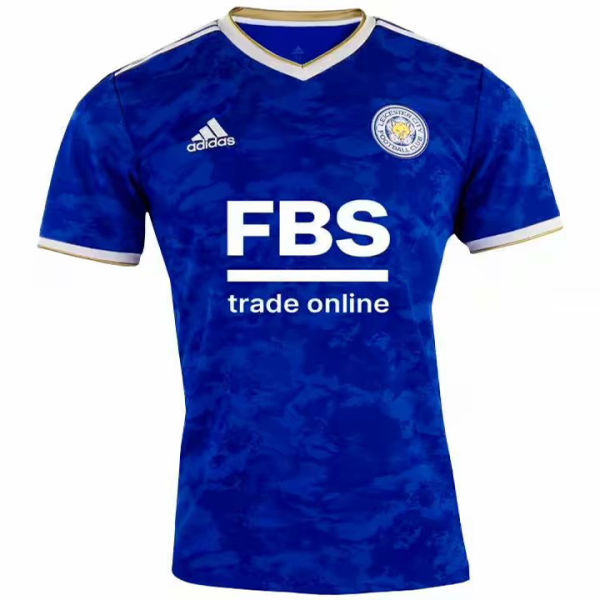 2021/22 Leicester City Home Blue Fans Soccer Jersey