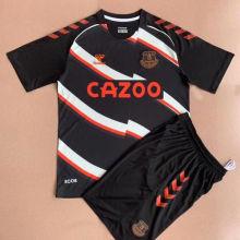 2021/22 Everton Black Kids Jersey