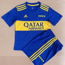 2021/22 Boca Home Kids Soccer Jersey