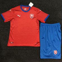 2021/22 Czech Red Kids Soccer Jersey